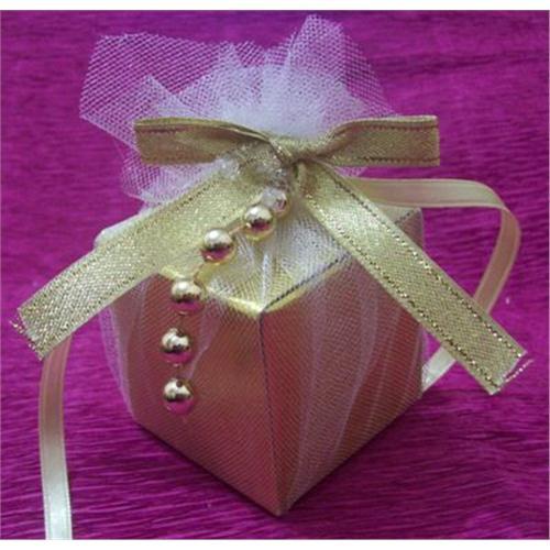 Altın kutu nikah şekeri