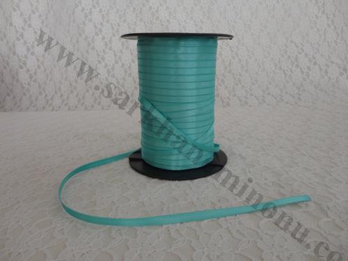 6mm Saten Su Yeşili Kurdele