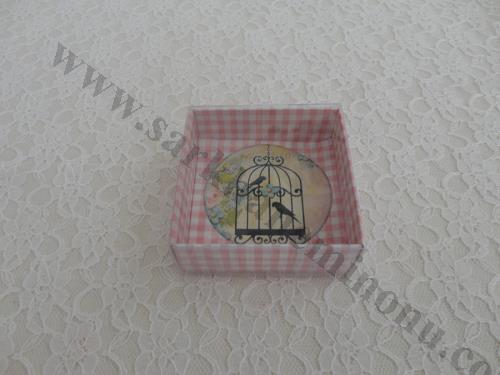 Asetat Kapaklı Karton Kutu 2