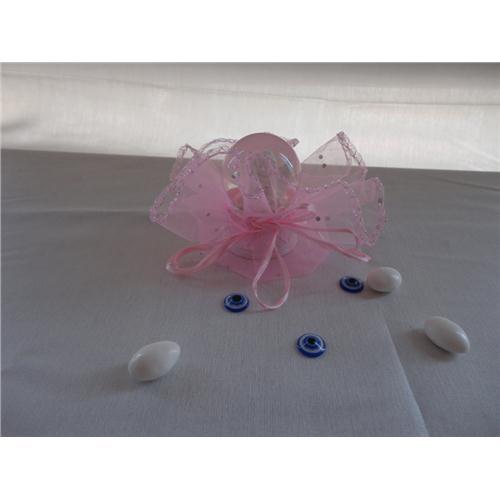 Karlı Melekli Küre Bebek Şekeri