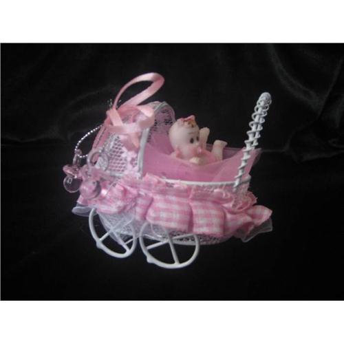 Bebekli Tel Puset Bebek Şekeri