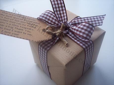 Kraft Kağıdı Paketli Kutu Nikah Şekeri 2