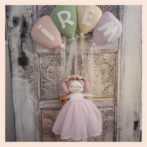 Bebekli Bebek Kapı Süsü