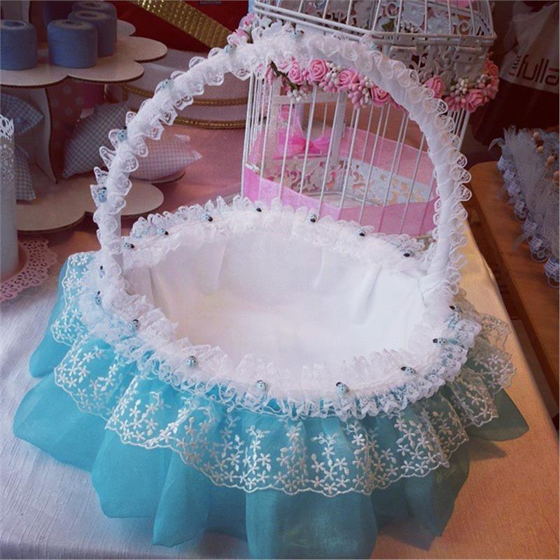 Bebek Şekeri Sepeti Mavi