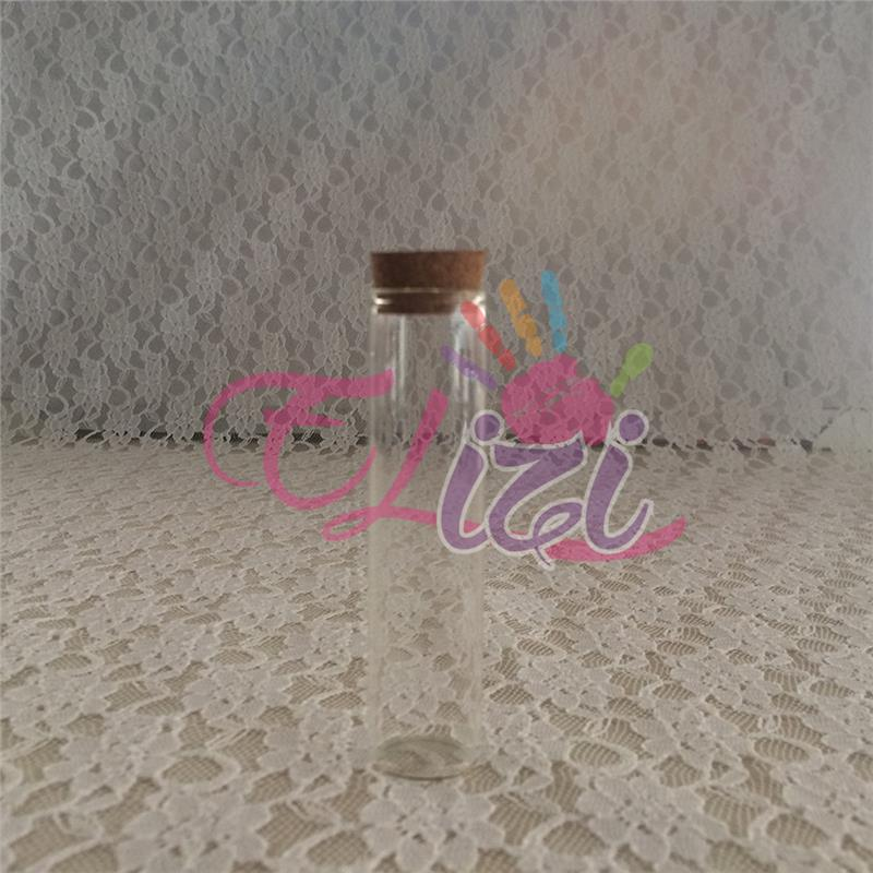 Mantar Tıpalı Cam Şişe (100