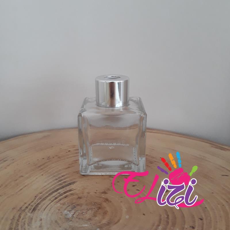 Kare Oda Parfüm Şişesi 50 cc 50