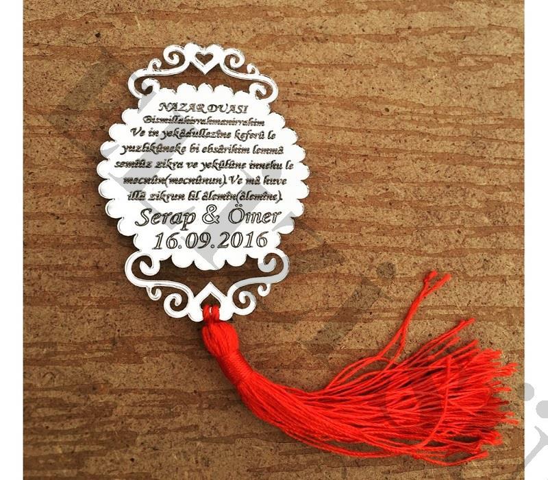 Ayetli Pleksi Nişan ve Düğün Hediyesi